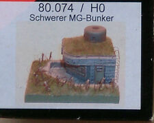 1:87 Artmaster HO 80.074 Schwerer MG-Bunker,  Resin Bausatz.