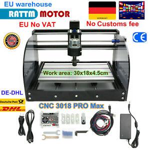 【DE】 CNC 3018 Pro Max GRBL Control Laser Milling Machine Engrave wood router kit