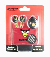Angry BIRDS Cuffie Auricolari Stereo Nero iPhone iPad iPod 3DS accessorio Pack NUOVO