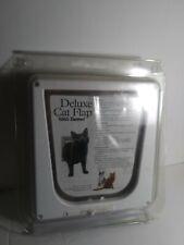 Interior Cat Door 4-Way Lock Options For Cats Up to 15 Lb