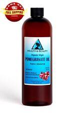 POMEGRANATE SEED OIL UNREFINED ORGANIC COLD PRESSED VIRGIN RAW FRESH PURE 32 OZ