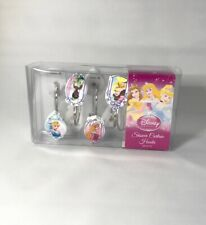 Disney Princess Shower Curtain Hooks Set of 12