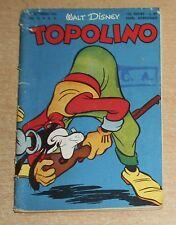 ED.MONDADORI  SERIE  TOPOLINO   N°  51  1952   ORIGINALE  !!!!!