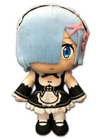 **Legit** Re Zero Authentic Anime Stuffed Plush One of Twin Maids Rem #53501