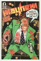 Mayhem #1 (Dark Horse 1989) Early Appearance of The Mask (Big Head)