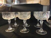 Crystal Wine Glasses 6