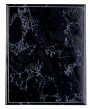 "Black Marble Finish Blank Wood Plaque 12"" x 15"" FREE SHIPPING BKM12(B35)"