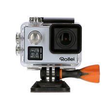 Rollei Actioncam 530 WiFi Action Cam mit 4k Video Auflösung silber 40 m Tauchtie