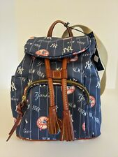 Dooney and Bourke Yankees Medium Murphy Backpack Purse