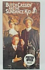 New Sealed Vhs Butch Cassidy And The Sundance Kid Robert Redford