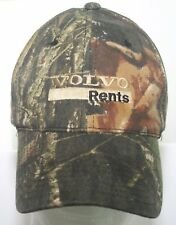 Volvo Rents Works For You Hat Mossy Oak Camouflage Port Authority Strapback Cap