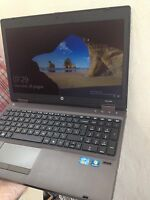 "HP PROBOOK  6360b i5 CPU @ 2,4 ghz!  4 GB ram!! 320 HD 14""  Webcam Windows 10"