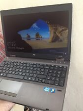 "HP PROBOOK 6560b i3 2120M @ 2,1 ghz! 8 GB ram!! 250 HD 15.6""  Webcam Windows 10"