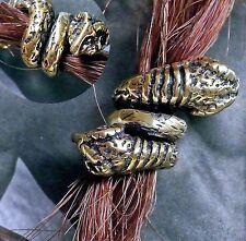 Bartcreole Bart Perle Bartperle Bartschmuck Bronze WIDDER Wikinger LOCH 5,5mm