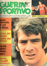 GUERIN SPORTIVO=NR°32 1974=SERGIO CLERICI COVER=OLANDA=CRUYFF=FEMI BENUSSI