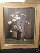 Jacques Voyet (1927 -) French Modern Still life Dasies gallery Dourand - David