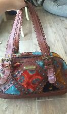 Isabella Fiore Amazing Rare Carpet Bag New With Flaw