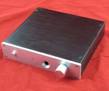 NEW Full Aluminum Enclosure case headphone amplifier preamp box chassis 2104