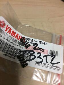 Yamaha 90501-12743 X2 Molla Poggiapiedi FZ8 XJ6 BT1100 600 Diversione CS50 ECC