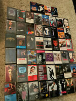 Lot (52) 1980's Rock/Pop - Cassette Tapes - EX (Prince,Cars,Jackson,Soundtracks)