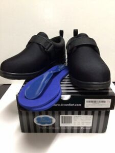 Dr. Comfort Carter Men's 10W Black Diabetic Casual Shoe