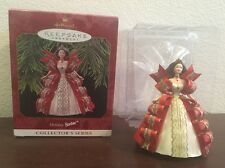 "Hallmark Holiday Barbie Collector's Series Keepsake Ornament  4"""
