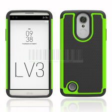 Armor Shockproof Hybrid Rubber Phone Case Cover For LG Aristo/Fortune/Phoenix 3