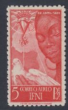 IFNI : 1951 Airmail-Birth Anniversary of Isabella  SG 70 mint