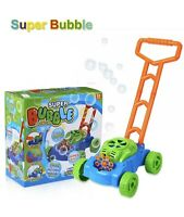 Lydaz Bubble Mower for Toddlers Kids Bubble Blower Machine Lawn Games Outdoor