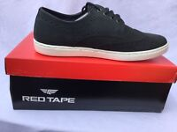 Brand New Red Tape Men's Girvan Nubuck Leather Casual Brogue Shoes Navy UK 10