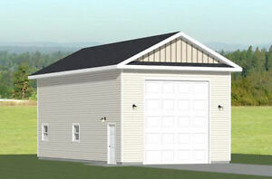 20x40 1-RV Garage -- 800 sq ft -- PDF Floor Plan -- Model 3A