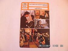 CARTE FICHE CINEMA 1998 A TOUT JAMAIS UNE HISTOIRE DE CENDRILLON Drew Barrymore