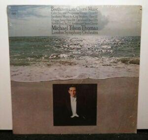 MICHAEL TILSON THOMAS BEETHOVEN LATE CHORAL MUSIC (NM) M-33509 LP VINYL RECORD