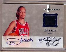 2007-08 HOT PROSPECTS JOAKIM NOAH RC AUTO PATCH 02/10!! RARE