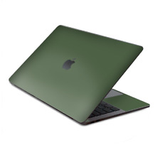 "Skin Decal Wrap for MacBook Pro 13"" Retina Touch  Solid Olive Green"
