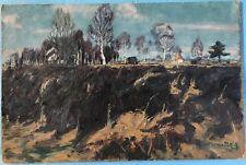 Cuadros oleos Dachauer musgo pantano torfstich silberpappel Dachau Karl Sagmeister ~ 1920