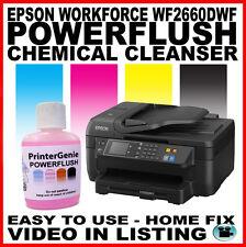 Epson WorkForce WF2660DWF Head Cleaner: Nozzle Cleanser & Printhead Unblocker