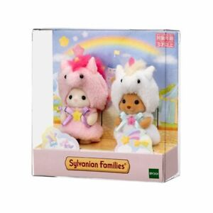 Sylvanian Families BABY PAIR UNICORN SET Calico Critters Japan