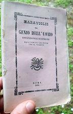 1864 CURIOSO MANUALE SULLE INVENZIONI E SCOPERTE. VAPORE, ARCHITETTURA NAVALE