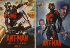 Marvel Ant-Man Movie Posters Complete 2 Card-Set   MP 1 + 2 Upper deck 2015
