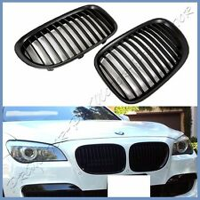 For BMW F01 F02 Matte Black OE Front Hood Grille 09-15 7 Series 750i 740i Sedan