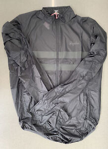 Rapha Brevet Flyweight Wind Jacket Carbon Grey Size Large Brand New With Tag