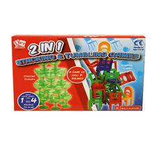 2in1 sedie impilabili gioco TAZZE SALDO concentrato Bambini Famiglia Stack alto