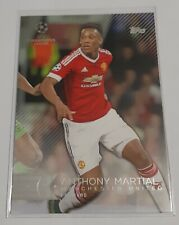 2015 2016 Topps Showcase Champions League Anthony Martial Manchester United # 40