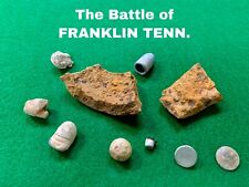 New listing Artillery Fragment, Bullets, Buttons etc Dug At The Battle Of Franklin Tennessee