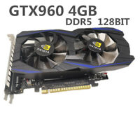 New GTX960 4G GDDR5 128bit Desktop Graphics Card HDMI DVI VGA Output Card