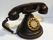 OLD STYLE TELEPHONE VINTAGE DECORATIVE HANDMADE METALIC
