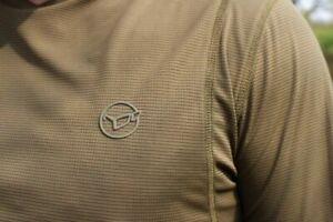 NEW Korda Kool Quick Dry Long Sleeve Tee Tshirt All Sizes - Carp Fishing