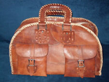 Unbranded Leather Up to 40L Luggage without Wheels
