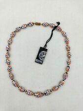 Ercole Moretti Necklace of Murano Glass Beads (0273)